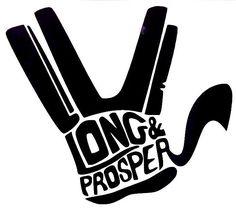 Live Long & Prosper Spock Funny Car Truck Window Vinyl Decal Sticker 12 Colors #VinylDecalSticker