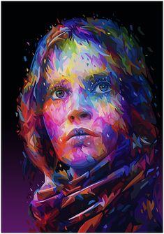 Jyn Erso portrait