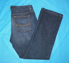 Ariat Mens M4 Low Rise Boot Dark Wash Denim Jeans Size 34x32 NWOT #13 #Ariat #BootCut