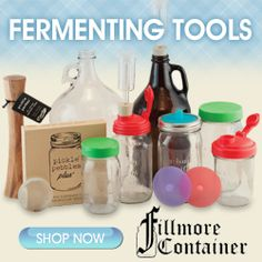 Fillmore Container Fermenting Supplies: Buy Now