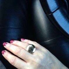 Golden Disc by Linda Golden Discs, Personal Taste, Class Ring, January, Jewellery, Style, Swag, Jewels, Schmuck