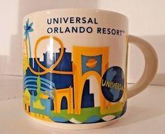 Universal Orlando Resort   YOU ARE HERE SERIES   Starbucks City Mugs