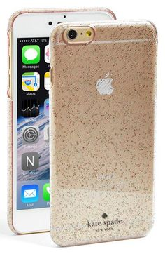 kate spade new york 'glitter' iPhone 6 Plus case   Nordstrom