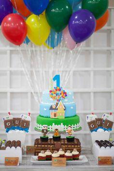 Up Birthday Party via Kara's Party Ideas | KarasPartyIdeas.com #up #birthday #party #supplies #ideas (9)