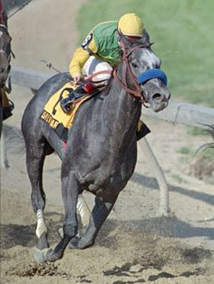 Silver Charm - Should have won in 1997. Won Derby and Preakness. 2nd in Belmont.