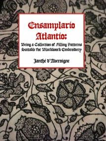Ensamplario Atlantio - Being a Collection of Filling Patterns Suitable for Blackwork Embroidery. Вышивка в технике блэкворк Motifs Blackwork, Blackwork Embroidery, Cross Stitch Embroidery, Hand Embroidery, Embroidery Books, Embroidery Online, Embroidery Designs, Types Of Embroidery, Embroidery Supplies