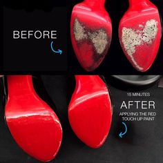 Christian Louboutin OFF! Before-After Christian Louboutin Red Bottom Paint Mens New Years Eve Outfit Red Louboutin, Christian Louboutin Red Bottoms, Christian Louboutin Outlet, Red Bottom Heels, Red High Heels, Black Heels, Black Boots, Bottom Paint, Unique Wedding Shoes