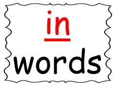 Students practice reading words in the -in word family as you go through the power point presentation. This is a great activity for introducing a new word family or for rhyming. Because it is a ppt. file, you can change it to add automatic timings on it so students can work through it on a computer independently.