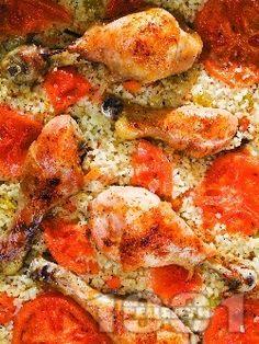 Пилешки бутчета с ориз