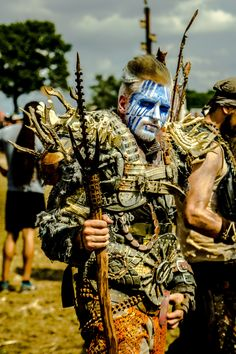 Inspiration for Tekalli warrior (Lingus @ Wacken 2013 by Wasteland-Warriors.deviantart.com on @deviantART)