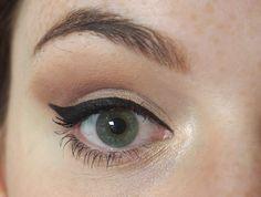Super easy eyeliner flicks! Eye of Horus Liquid Definer Eyeliner Review Swatch on Irish Beauty Blog, John, It's Only Makeup! Easy Eyeliner, Eyeliner Flick, Eye Of Horus, All About Eyes, Shadows, Super Easy, Mascara, Swatch, Irish