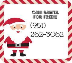 Call Santa For FREE!!!!