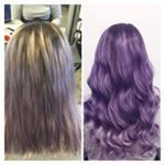 T r a n s f o r m a t I o n Fresh new colour and some Beverly May Hair Extensions will do the trick hairdresser sally beverlymayhair hairextensions purplehair lakme Hair Toppers, Hair Loss Women, Hair Pieces, Sally, Hairdresser, Hair Extensions, Wigs, Colour, Fresh