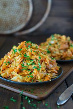 Cabbage Sauteed with