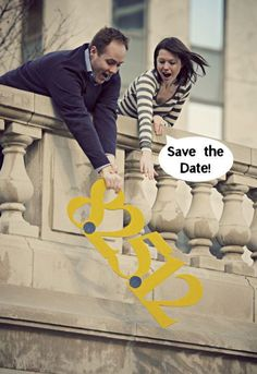 Ok this one is pretty hilarious xD !!    40  Unique Save the Date Photo Ideas