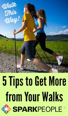 Are you walking all wrong? Here's how to get the most out of your exercise sessions. | via @SparkPeople #walking #health #fitness #exercise #workout #healthy #healthyliving
