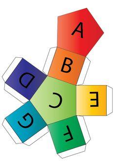 Musical Alphabet Dice -