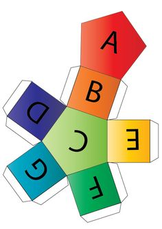 Instructions for making music alphabet dice for piano teaching games.