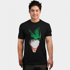 Daily Tee: The Dark Joker T-shirt Design by 6amcrisis - fancy-tshirts.com