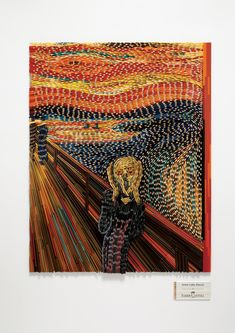 Faber-Castell: The Scream. To promote Faber-Castell's top-of-the-line range of 'Artist Color Pencils', we re-created well-known masterpieces such as Vincent Van Gogh's 'Terrace Cafe at Night' and Edvard Munch's 'The Scream' using thousands of color pencils as the medium itself.