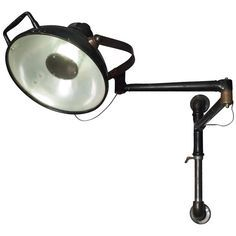 old dental lights free standing - Google Search