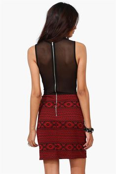 Aztec Rebel Dress