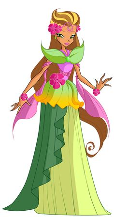 COM: Queen Flora by MiaEnchantedFairy on DeviantArt Winx Cosplay, Twilight Equestria Girl, Anime Boy Sketch, Les Winx, Dragon Ball Z Shirt, Flora Winx, Bloom Winx Club, My Little Pony Drawing, Twin Girls