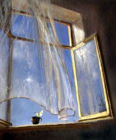 ELENA USHEVA Window... interesting thought for perspective...