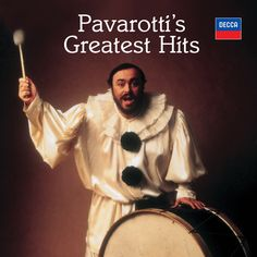 Pavarotti's Greatest Hits CD] Song Artists, Greatest Hits, Classical Music, Apple Music, Orchestra, The Voice, Audio, Singer, Model