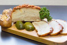 Paprikový bôčik Baked Potato, Camembert Cheese, Pork, Potatoes, Baking, Dinner, Ethnic Recipes, Russian Recipes, Czech Republic