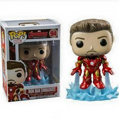 Iron Man [Unmasked] Pop! Marvel Funko POP! Vinyl