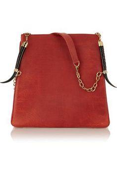 Lamia leather shoulder bag #bag #women #covetme #okapi #covetme #love #fashion #clothes #shoes #makeup