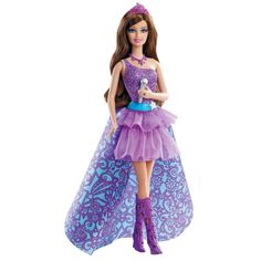 Barbie The Princess and The Popstar Keira Doll - CLICK TO BUY - From the all new Barbie movie, Barbie The Princess and the Popstar, this princess and pop star definitely know how to rock a look.