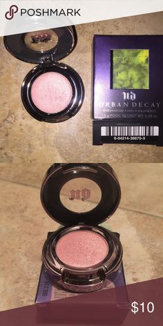 "URBAN DECAY SINGLE EYESHADOW••""SCRATCH"" Swatched one time with brush. Was not the shade I was hoping for. Like new. Comes in box. Urban Decay Makeup Eyeshadow"