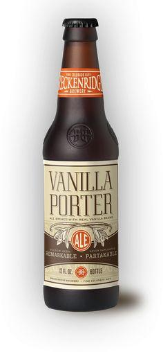 Vanilla Porter Colorado Craft Beer.  Not much Vanilla flavor or smell..