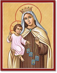 Monastery Icons - Our Lady of Mt. Carmel