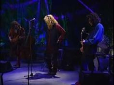 """▶ Robert Plant & Jimmy Page - """"What Is And What Should Never Be"""" [1994 Live with the Egyptian Ensemble]"""