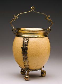 Stylized cauldron made from ostrich egg by Caspar Pfister in Wrocław, ca. 1609, Muzeum Narodowe w Warszawie (MNW)