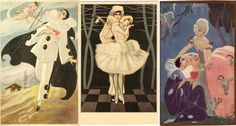 italian popular postcards from 20's and 30's