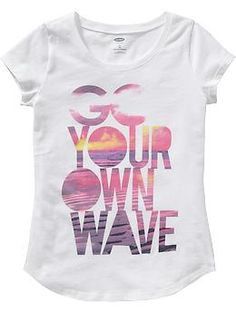 Girls Beach-Graphic Tees | Old Navy