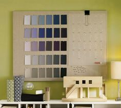 Linen memo board from Pottery Barn -- you can make this one yourself! Memo Boards, Pin Boards, Bulletin Boards, Pottery Barn Inspired, Home Organization, Organizing, Diy Projects, Project Ideas, Craft Ideas