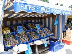 Cancale - Oyster markets