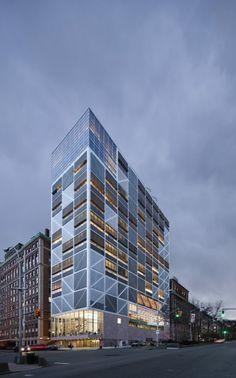 Columbia University Northwest Corner Building | Morningside Heights, Manhattan, New York | Rafael Moneo, Davis Brody Bond, and Moneo Brock Studio | Photo by Michael Moran