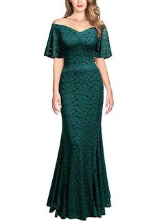 Shop a great selection of Miusol Miusol Women's Vintage Off Shoulder Floral Lace Long Sleeve Formal Maxi Dress. Find new offer and Similar products for Miusol Miusol Women's Vintage Off Shoulder Floral Lace Long Sleeve Formal Maxi Dress. Plus Size Maxi Dresses, Short Sleeve Dresses, Long Sleeve, Very Short Dress, Mother Of The Bride Gown, Cosplay Dress, Cap Dress, Formal Dresses For Women, Pretty Dresses