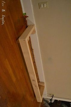 She nails 2x4's into her living room wall. The reason? This is AWESOME