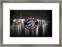 Toronto Raptors Nba Basketball Framed Print