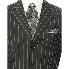 Jack Skellington style suit for Nightmare Before Christmas wedding. (Obviously without that ugly tie.)