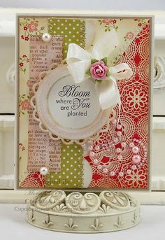 card designed by Mona Pendleton using JustRite Seeds Of Kindness