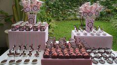Chá de Bebê da Bibi. Tudo rosa e marrom!   by PraGenteMiúda, via Flickr