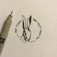 7d72b35f2d154fc0efe8caa01934064d.jpg 570×570 pixels Watership Down Quotes, Rabbit Tattoos, Future Tattoos, New Tattoos, Rabbit Art, Sister Tattoos, Croquis, Skin Art, Pet Portraits